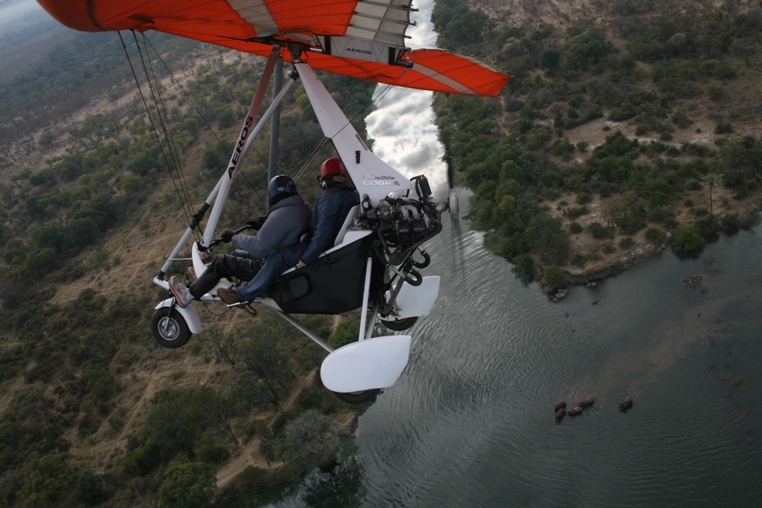 Microlight safaris (Kwamadwala Game Reserve)
